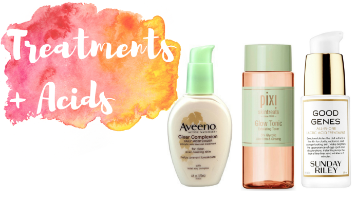 Skincare Routine: Fall 2016 - Acids + Treatments - Nettle and Lily